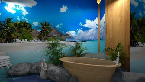 Island vibes bathroom - by ilcsi1860