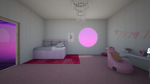 PINK BEDROOM - Bedroom  - by littlecutie01110
