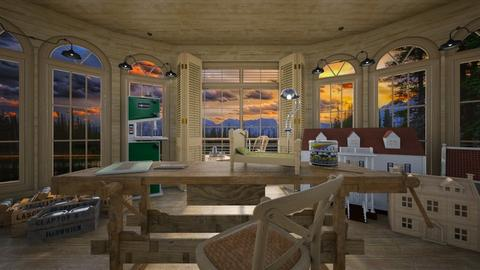 shed - Office - by daydreamer84