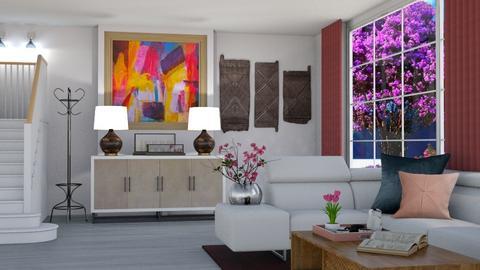 Living Hallway - Modern - by Art_Decoration