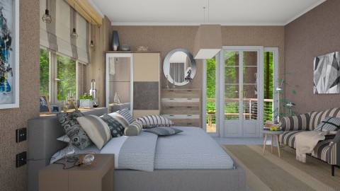 Scandinavian home_colors  - Eclectic - Bedroom  - by Ida Dzanovic