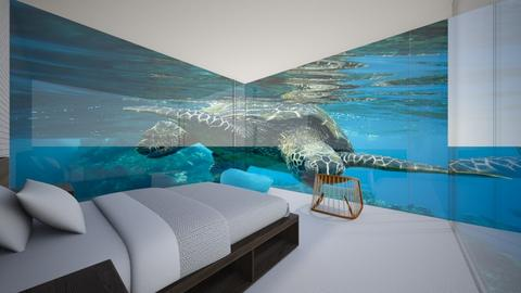 water bed - Minimal - Bedroom  - by taebay1 OSG
