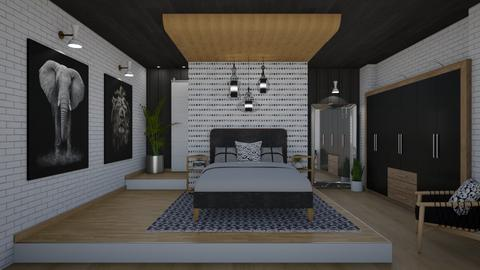 Ceiling Feature - Modern - Bedroom  - by Nicky West