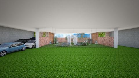 Secret Garage Garden 2 - Garden - by mydreamjob25