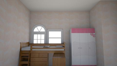 Kids bedroom - Glamour - by izabella spark