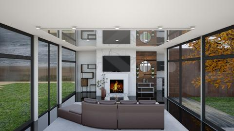 In Between Storms LVR - Modern - Living room  - by 2001blon