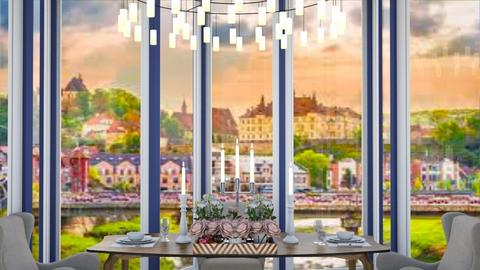 chandelier - Dining room  - by nihalruttala
