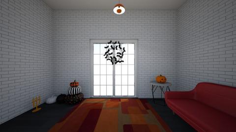halloween room - Living room  - by mckenna100