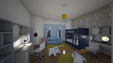 kids room 5 - Kids room  - by Lumy79