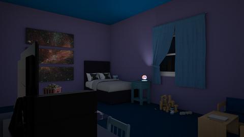 MilkyWay Room - Kids room  - by Dr Worbiz