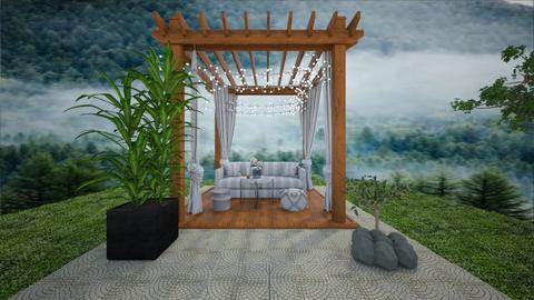 Pergola - Garden  - by claudia secareanu