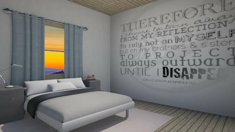 Abnegation 2 - Rustic - Bedroom  - by HGranger2