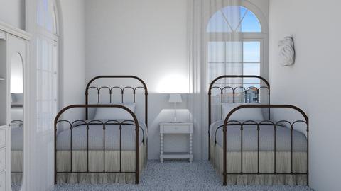 Beach kids bedroom - Bedroom  - by matildabeast