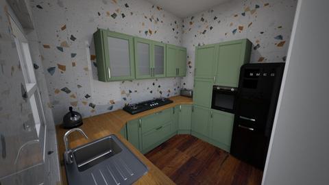 Meadow Close - Kitchen  - by rachelbbridge