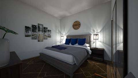 Alvis Bedroom Opt 5 - Modern - Bedroom  - by Redesigned Finds