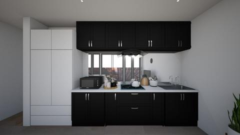 apartement kitchen - Modern - Kitchen  - by karisahsalim