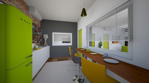kitchen room x2 - Kitchen - by APEXDESIGN