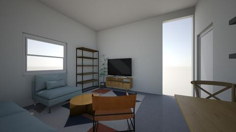 nir and faig - Living room - by coralstauber