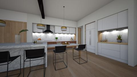 Loft - Kitchen  - by flacazarataca_1