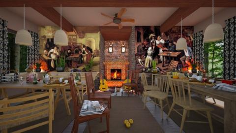 jan Steen s pub - by ilcsi1860