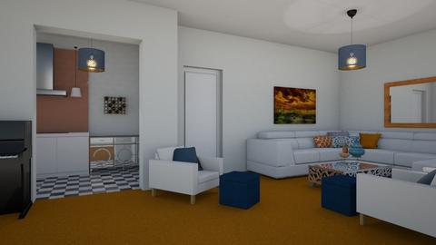 Orange Carpet - by PenAndPaper