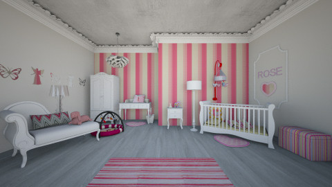 GIRL - Kids room  - by MadebyG