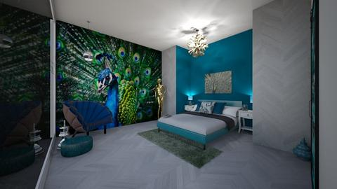 peacock - Bedroom  - by ash04