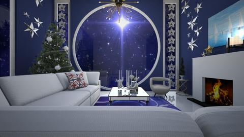 Starry Night - Living room - by PomBom