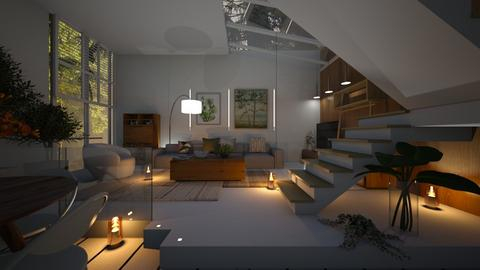 GLASS - Living room  - by zarky