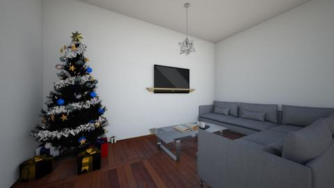 Happy Holidays - Living room  - by LeoTheLop