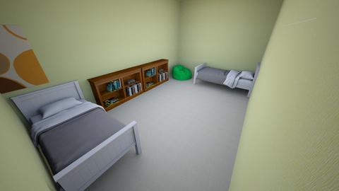 Tobys sad bedroom - Bedroom  - by tseegmiller2026
