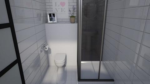 modern toilet - Bathroom  - by lokneszikolbasz