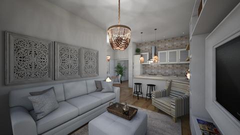 club robinson Ibiza - Living room  - by Lisett