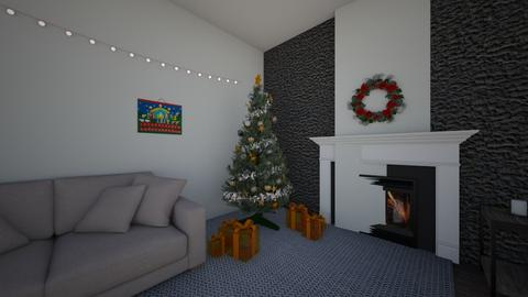 Christmas - Modern - Living room  - by BrussellRussell
