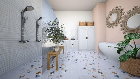 ORGANIC HOUSE P4 ENSUITE - Bathroom  - by aestheticXdesigns