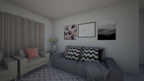 mae - Living room - by luu