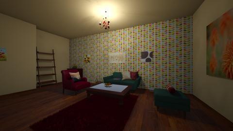 autumn - Living room - by Katarina1999