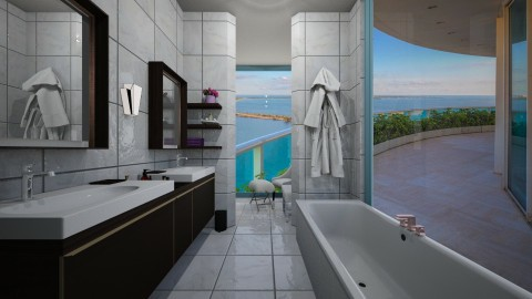 Dream Bathroom - by samaya
