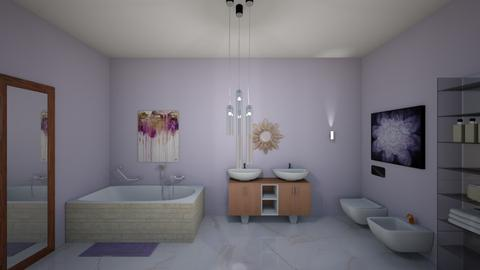 Lavender Bathroom - Bathroom  - by kasjdg