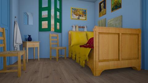 Arles Bedroom - Bedroom  - by smunro7