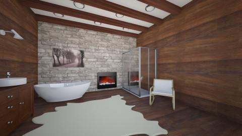 Chalet Bathroom 2 - Rustic - Bathroom  - by Andersen69