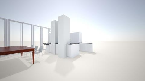 Verticale keuken - Modern - Kitchen  - by Nicolinevanleeuwen