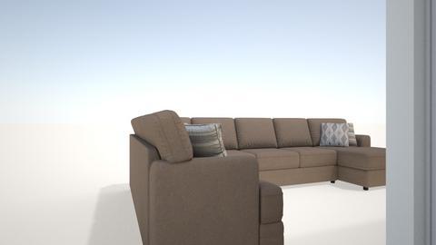 Hunters Landing - Living room  - by drewphillips2