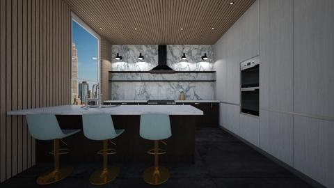 kitchen design white2 - Kitchen  - by erladisgudmunds