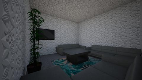 tv room - Living room  - by kitten paw