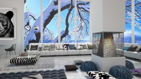 Alpes vacation  - Modern - Living room  - by vesperart