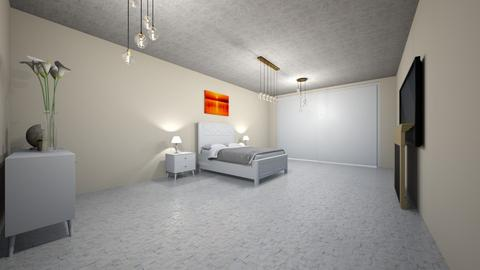 Modern Greek - Modern - Bedroom  - by Charginghawks