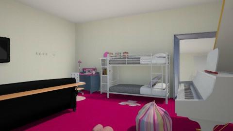 Uli i Lenki  - Glamour - Kids room  - by frodo2002