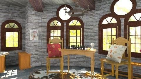 Medieval - Vintage - Living room  - by hetregent