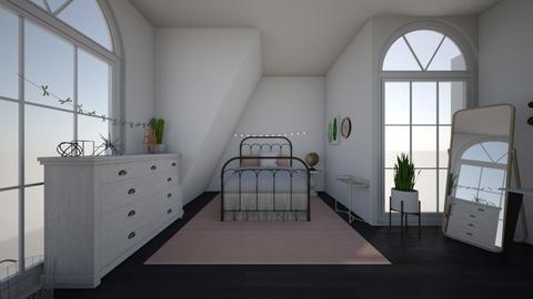 vsco bedroom - Bedroom - by kaleighsksk